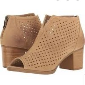 Dirty Laundry Too Cute suede perforated booties 8